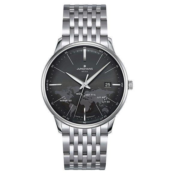 ポイントバックセール 3%ポイント還元ユンハンス JUNGHANS マイスター 058 4803 44 ブラック文字盤 メンズ 腕時計新品dWQreCBox