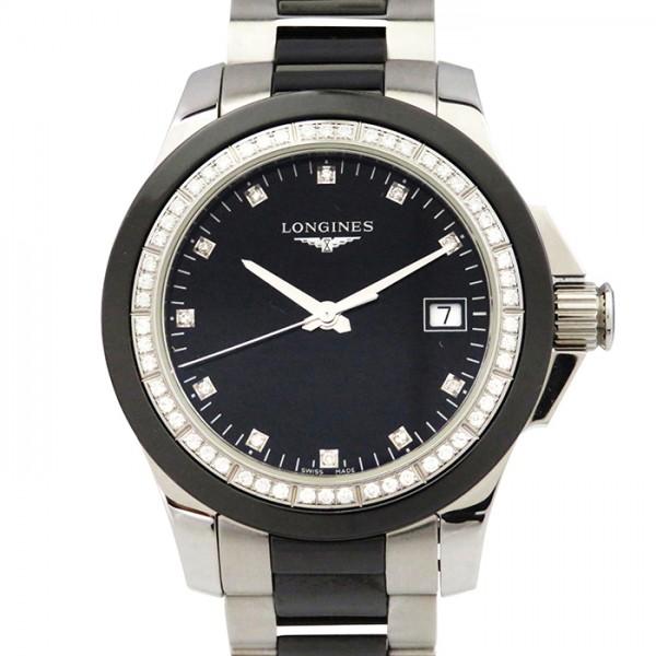 ロンジン LONGINES その他 L3.281.057.7 ブラック文字盤 メンズ 腕時計 【中古】