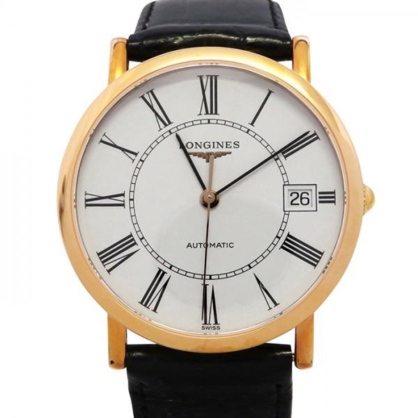 訳あり商品 ロンジン LONGINES エレガントコレクション L4 778 8 11 0 ホワイト文字盤  腕時計 メンズ, 西木村 222893d2