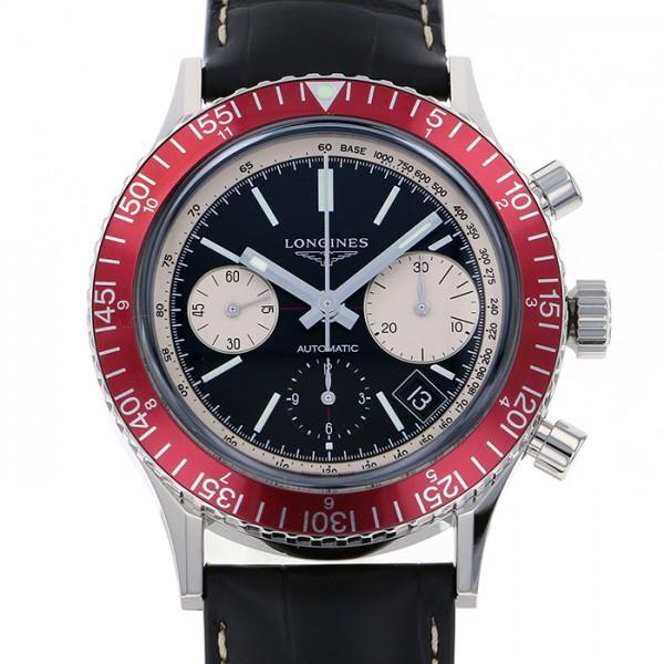 ロンジン LONGINES その他 ヘリテージ L2.808.4.52.0 ブラック文字盤 メンズ 腕時計 【新品】