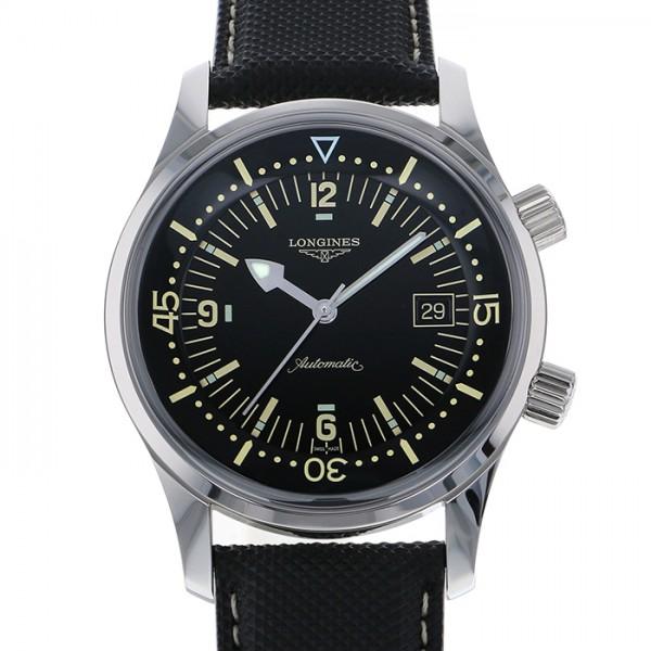 ロンジン LONGINES その他 レジェンドダイバー L3.674.4.50.0 ブラック文字盤 メンズ 腕時計 【新品】