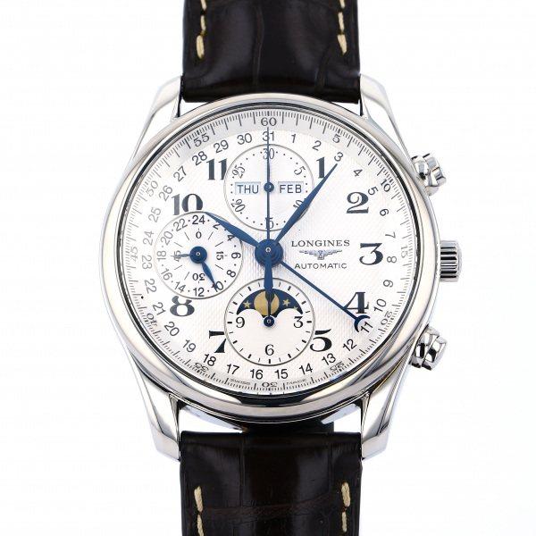 ロンジン LONGINES その他 マスターコレクション L2.673.4.783 シルバー文字盤 メンズ 腕時計 【中古】