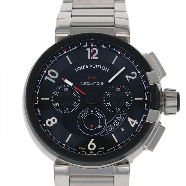 【全品 ポイント10倍 4/9~4/16】ルイ・ヴィトン LOUIS VUITTON その他 タンブール クロノグラフ GMT エボリューション Q1052 ブラック文字盤 メンズ 腕時計 【中古】