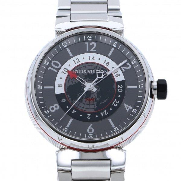 ルイ・ヴィトン LOUIS VUITTON その他 タンブール グラフィット GMT Q1D30 グレー文字盤 メンズ 腕時計 【中古】