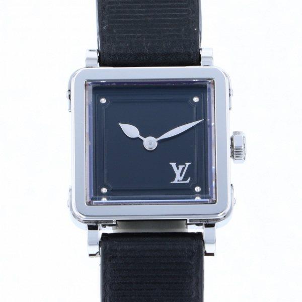 【全品 ポイント10倍 4/9~4/16】ルイ・ヴィトン LOUIS VUITTON その他 アンプリーズ Q3M00 ブラック文字盤 レディース 腕時計 【中古】