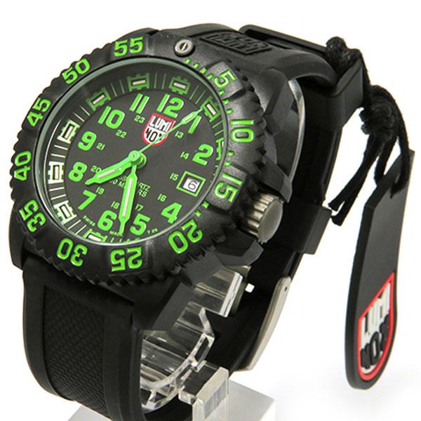 ルミノックス LUMINOX カラーマークシリーズ 3067 ブラック文字盤 メンズ 腕時計 【新品】