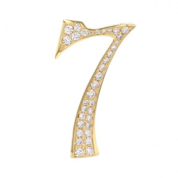 ノンブル NOMBRE ノンブル ナンバーペンダントトップ【7】Lサイズ【正規品】 NYG-L7 メンズ ジュエリー 【新品】