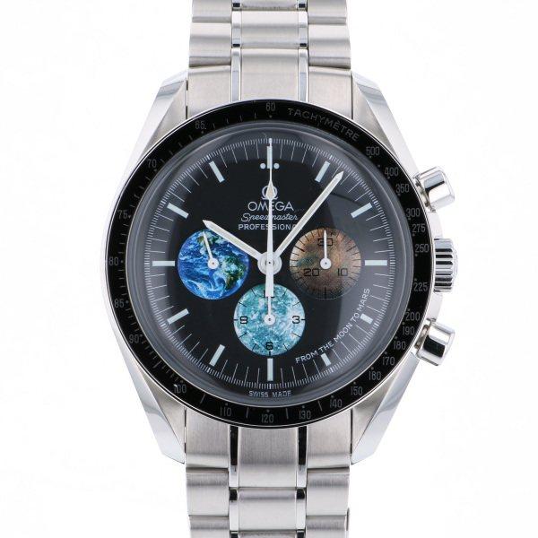 オメガ OMEGA スピードマスター プロフェッショナル フロム・ザ・ムーントゥ・マーズ 3577.50 ブラック文字盤 メンズ 腕時計 【中古】