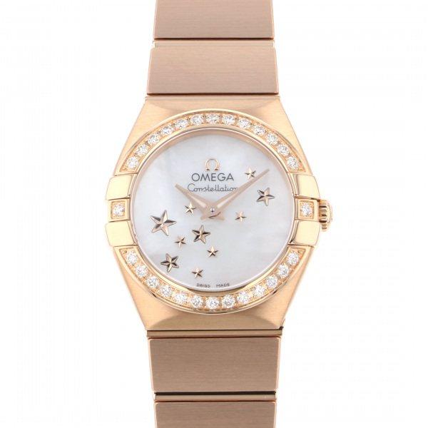 オメガ OMEGA コンステレーション レディスコレクション 123.55.24.6005.003 ホワイト文字盤 レディース 腕時計 【新品】