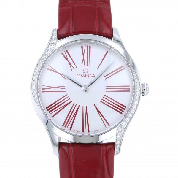 オメガ OMEGA デ・ヴィル トレゾア 428.18.36.60.04.002 ホワイト文字盤 レディース 腕時計 【新品】