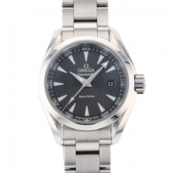 オメガ OMEGA シーマスター アクアテラ 231.10.30.60.06.001 グレー文字盤 レディース 腕時計 【中古】