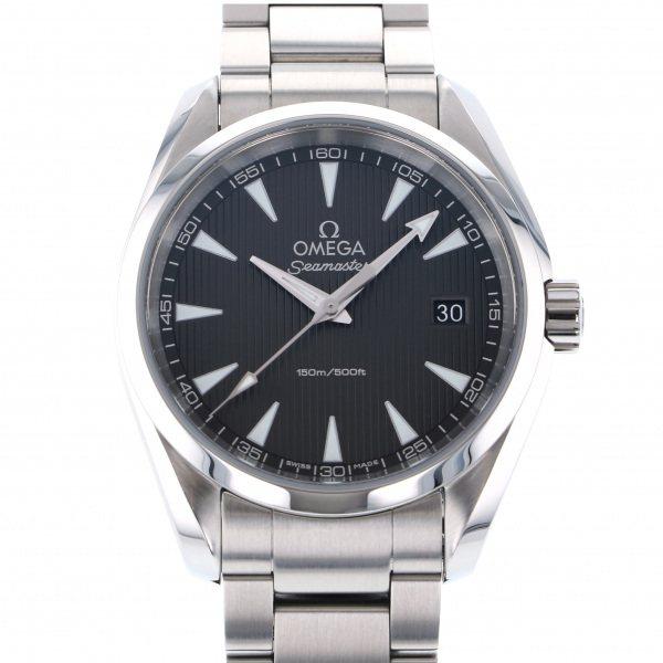 オメガ OMEGA シーマスター アクアテラ 231.10.39.60.06.001 グレー文字盤 メンズ 腕時計 【中古】