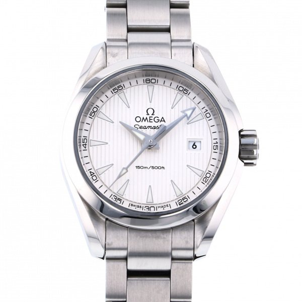 オメガ OMEGA シーマスター アクアテラ 150M 231.10.30.60.02.001 シルバー文字盤 メンズ 腕時計 【中古】
