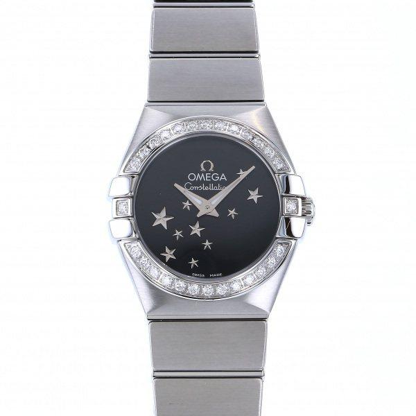 オメガ OMEGA コンステレーション 123.15.24.60.01.001 ブラック文字盤 レディース 腕時計 【新品】