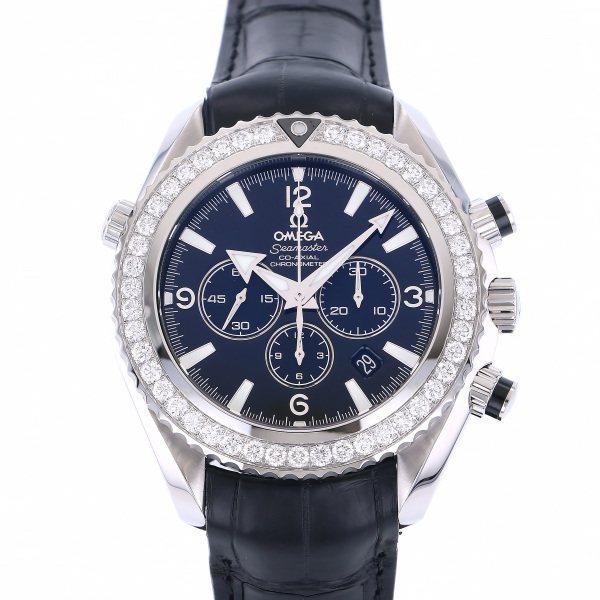 オメガ OMEGA シーマスター プラネットオーシャン クロノグラフ 222.18.46.50.01.001 ブラック文字盤 メンズ 腕時計 【新品】