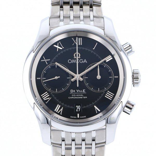 オメガ OMEGA デ・ヴィル コーアクシャル クロノグラフ 431.10.42.51.01.001 ブラック文字盤 メンズ 腕時計 【新品】