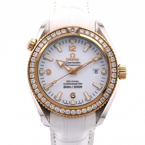 オメガ OMEGA シーマスター プラネットオーシャン 600M コーアクシャル 222.28.42.20.04.001 ホワイト文字盤 メンズ 腕時計 【新品】