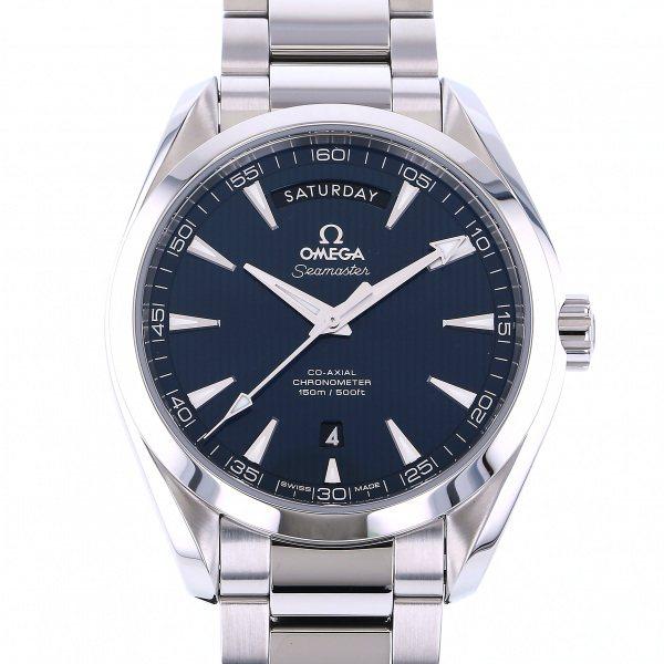 オメガ OMEGA シーマスター アクアテラ 150M コーアクシャル デイデイト 231.10.42.22.03.001 ブルー文字盤 メンズ 腕時計 【新品】
