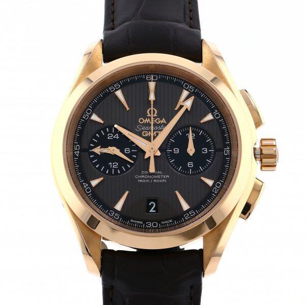 オメガ OMEGA シーマスター アクアテラ 150M コーアクシャル クロノグラフ GMT 231.53.43.52.06.001 グレー文字盤 メンズ 腕時計 【新品】
