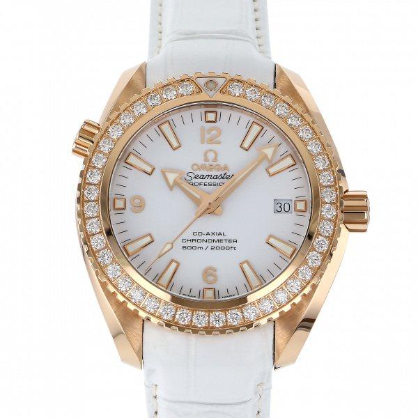 オメガ OMEGA シーマスター プラネットオーシャン 600M コーアクシャル 232.58.42.21.04.001 ホワイト文字盤 メンズ 腕時計 【新品】