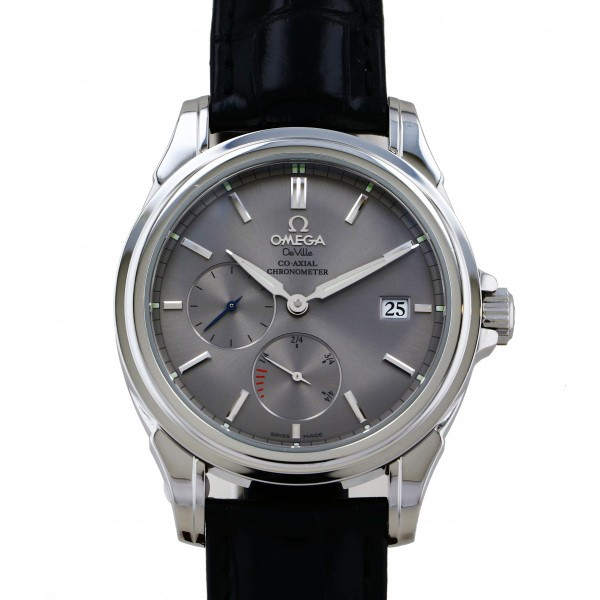 SALENEW大人気 オメガ OMEGA デ ヴィル コーアクシャル パワーリザー?ブコーアクシャル メンズ シルバー文字盤 腕時計 市場 4832.41.31 中古 パワーリザー?ブ