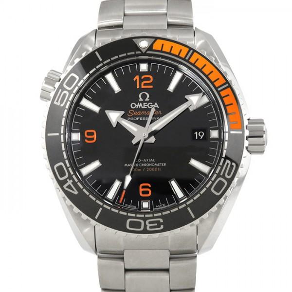 オメガ OMEGA シーマスター プラネットオーシャン 600M コーアクシャル マスタークロノメーター 215.30.44.21.01.002 ブラック文字盤 メンズ 腕時計 【新品】