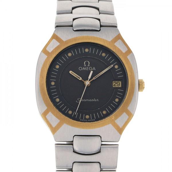 オメガ OMEGA シーマスター ポラリス 396.1022 ブラック文字盤 メンズ 腕時計 【アンティーク】