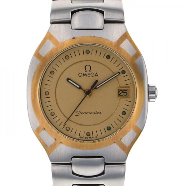 オメガ OMEGA シーマスター ポラリス 1455 ゴールド文字盤 メンズ 腕時計 【中古】