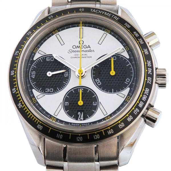 オメガ OMEGA スピードマスター レーシング 326.30.40.50.04.001 ホワイト/ブラック文字盤 メンズ 腕時計 【新品】, 電材工具専門店 おとくす:2e39c2b9 --- i360.jp