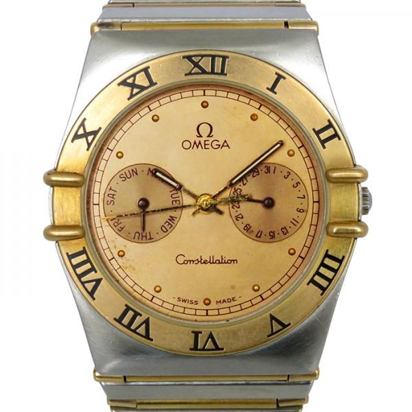 【期間限定ポイント5倍 5/5~5/31】 オメガ OMEGA コンステレーション デイデイト - ゴールド文字盤 メンズ 腕時計 【中古】