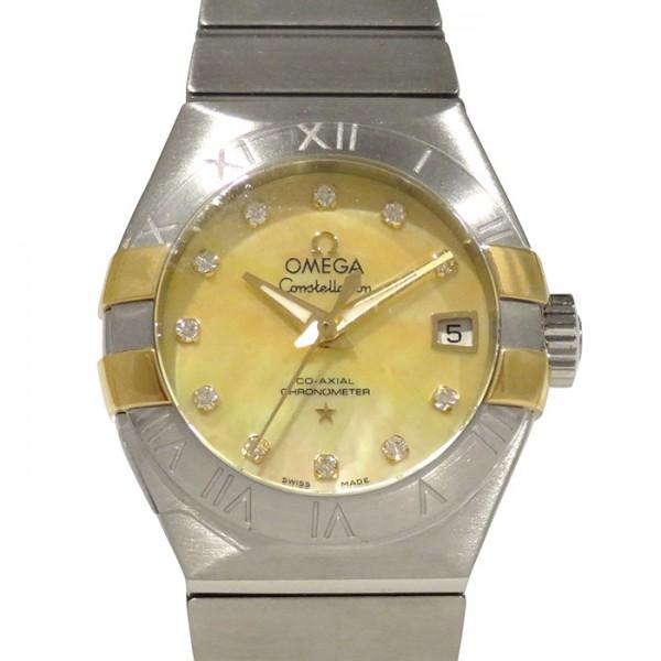 オメガ OMEGA コンステレーション コーアクシャル 123.20.27.20.57.003 ゴールド文字盤 レディース 腕時計 【新品】