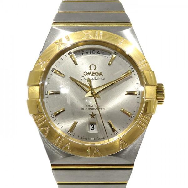 オメガ OMEGA コンステレーション コーアクシャル デイデイト 123.25.38.22.02.002 シルバー文字盤 メンズ 腕時計 【新品】