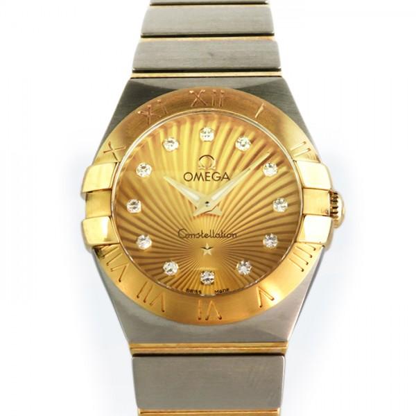 オメガ OMEGA コンステレーション 123.20.24.60.58.001 シャンパン文字盤 レディース 腕時計 【新品】