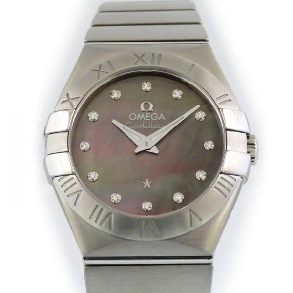 オメガ OMEGA コンステレーション 123.10.27.60.57.003 ブラックシェル文字盤 レディース 腕時計 【新品】