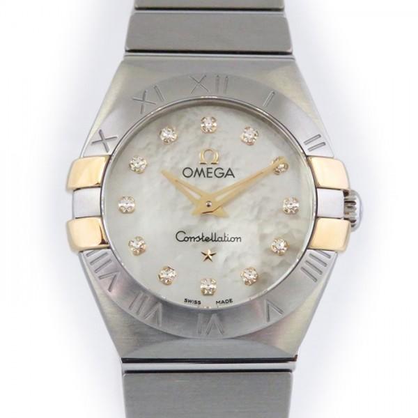 オメガ OMEGA コンステレーション  123.20.24.60.55.006 ホワイトシェル文字盤 レディース 腕時計 【新品】