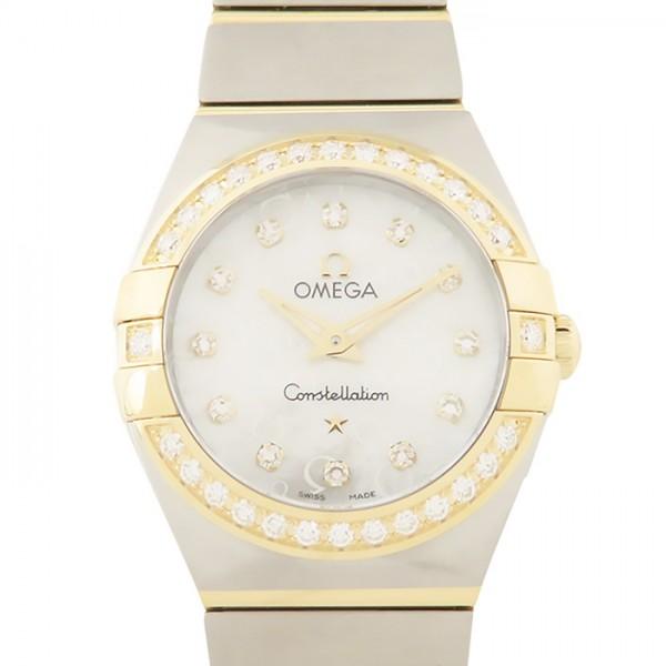 オメガ OMEGA コンステレーション 123.25.24.60.55.009 ホワイト文字盤 レディース 腕時計 【新品】