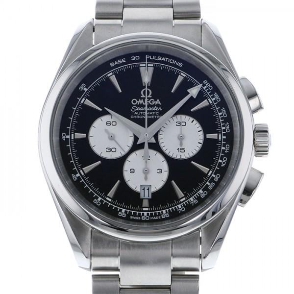 オメガ OMEGA シーマスター アクアテラ クロノグラフ 221.10.42.40.01.002 ブラック文字盤 メンズ 腕時計 【中古】