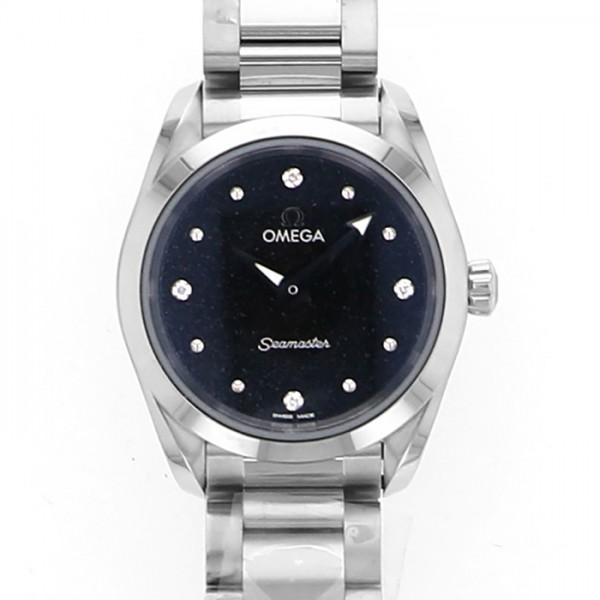 オメガ OMEGA シーマスター アクアテラ 220.10.28.60.51.001 ブラック文字盤 レディース 腕時計 【新品】
