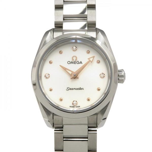 オメガ OMEGA シーマスター アクアテラ 220.10.28.60.54.0 ホワイト文字盤 レディース 腕時計 【新品】