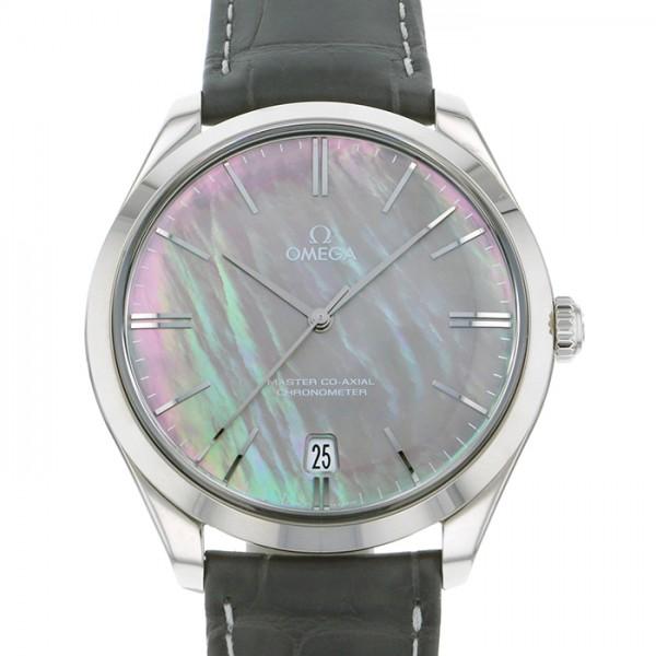 オメガ OMEGA デ・ヴィル デ・ヴィル トレゾア 432.53.40.21.07.001 ブラック文字盤 メンズ 腕時計 【未使用】