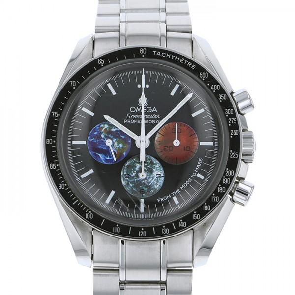 オメガ OMEGA スピードマスター プロフェッショナル フロム・ザ・ムーン・トゥ・マーズ 3577.50 ブラック文字盤 メンズ 腕時計 【中古】