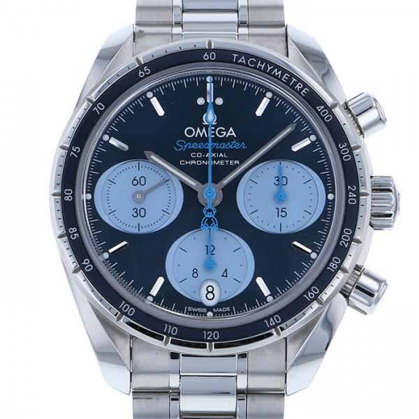 オメガ OMEGA スピードマスター オービス 324.30.38.50.03.002 ブルー文字盤 メンズ 腕時計 【中古】