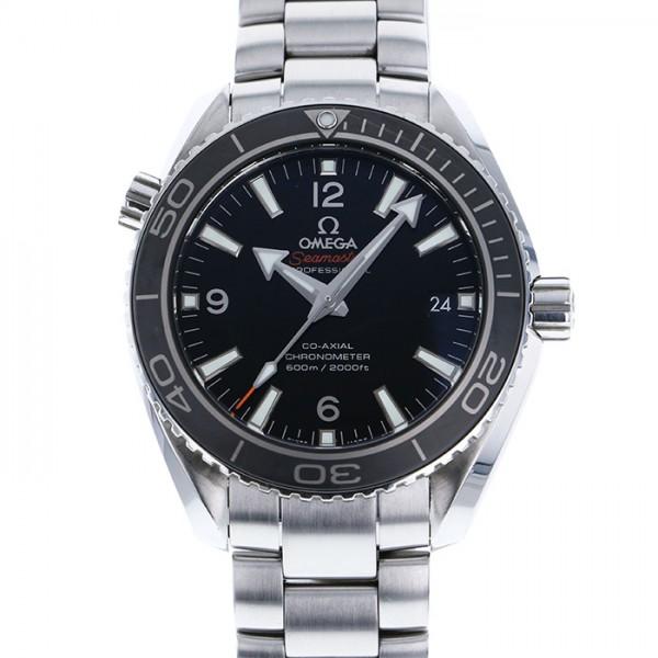 オメガ OMEGA シーマスター 600 プラネットオーシャン 232.30.42.21.01.001 ブラック文字盤 メンズ 腕時計 【中古】