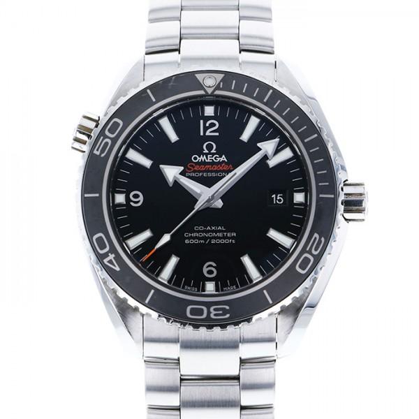 オメガ OMEGA シーマスター 600 プラネットオーシャン 232.30.46.21.01.001 ブラック文字盤 メンズ 腕時計 【中古】