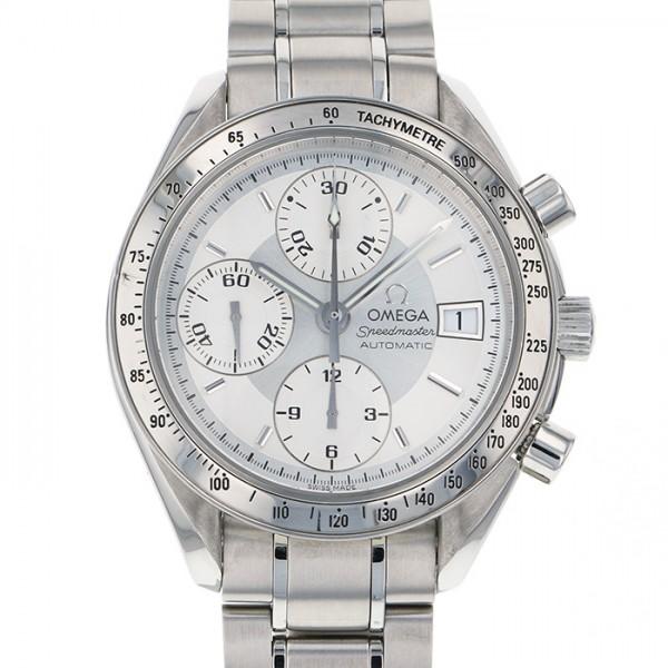 【全品 ポイント10倍 4/9~4/16】オメガ OMEGA スピードマスター デイト 3513.30 シルバー文字盤 メンズ 腕時計 【中古】