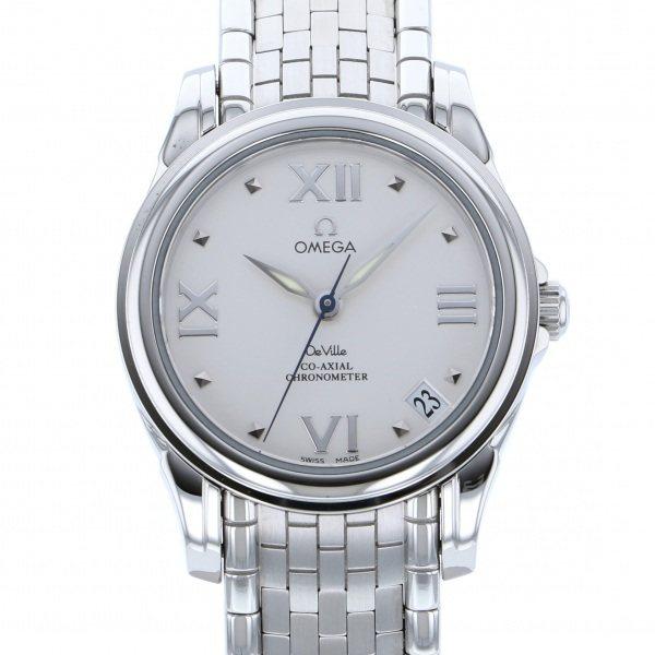 【全品 ポイント10倍 4/9~4/16】オメガ OMEGA デ・ヴィル コーアクシャル 4581.31 ホワイト文字盤 メンズ 腕時計 【中古】