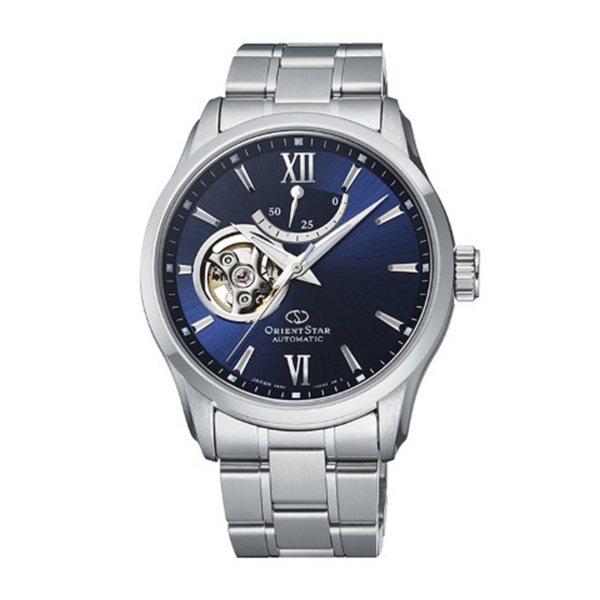 オリエントスター ORIENT STAR その他 SEMI SKELETON(Contemporary) RK-AT0002L ブルー文字盤 メンズ 腕時計 【新品】