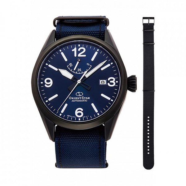 オリエントスター ORIENT STAR その他 OUTDOOR RK-AU0207L ブルー文字盤 メンズ 腕時計 【新品】