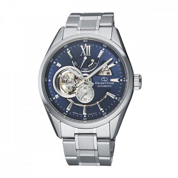 オリエントスター ORIENT STAR その他 MODERN SKELETON RK-AV0004L ブルー文字盤 メンズ 腕時計 【新品】
