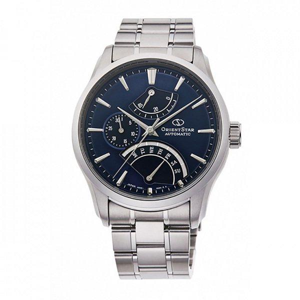 オリエントスター ORIENT STAR その他 RETROGRADE RK-DE0301L ブルー文字盤 メンズ 腕時計 【新品】